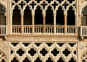 Ca dOro detail, Venice. Veneto, Italy