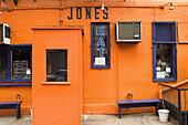 Great Jones Café. New York city. USA.