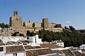 Antequeras Papabellotas castle, XII-XVI Century. Malaga province. Andalucia. Spain