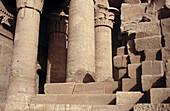 Egyptian Ruins. Kom Ombo. Egypt