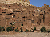 Aït Ben Haddou Kasbah (mud fortress), Ouarzazate, High Atlas. Morocco