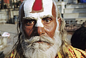 Sadhu (Indian holy man). Kathmandu, Nepal