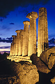 Temple of Hercules, Valley of the Temples. Agrigento. Sicily, Italy