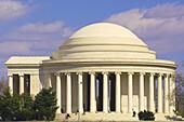 Jefferson Memorial, the Tidal Basin, Washington, District of Columbia, USA