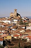 Jewish quarter and Santa Maria de Aguas Vivas church (XVI-XVIIth centuries). Hervás. Cáceres province, Extremadura, Spain