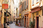 Old town of Nice, Cote d'Azur, Provence, France
