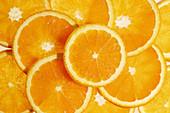 Orange (Citrus sinensis) slices