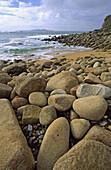 La Lanzada beach. O Grove. Pontevedra province. Galicia. Spain