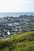 Aberystwyth marina Ceredigion Wales GB