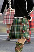Irish Dancers at St. Patricks Day Parade, Vancouver, Canada