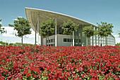 Palacio de Congresos (Convention Center in May). By Sir Norman Foster, 1994-1998. Valencia. Comunidad Valenciana. Spain