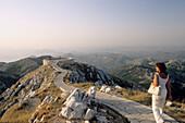 Viewpoint at Lovcen national park near Centinje, Montenegro