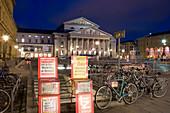 The National Theatre at square Max-Joseph-Platz at night, Munich, Bavaria, Germany, Europe