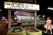 TALK OF THE TOWN on Las Vegas Boulevard, The Strip, downtown Las Vegas, Nevada, USA