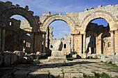 Qalaat Saaman. St. Simeon Basilica. Syria.