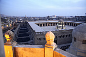 Ibn Tulun mosque (876-879), view from minaret of Sarghatmysh mosque, Cairo, Egypt