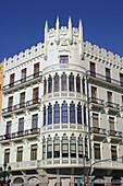 Façade. Valencia, Comunidad Valenciana, Spain