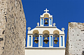 Bell, Bell gable, Bell gables, Bell tower, Bell towers, Bells, Church, Churches, Color, Colour, Concept, Concepts, Daytime, Detail, Details, Exterior, Outdoor, Outdoors, Outside, Temple, Temples, White, S06-537328, agefotostock