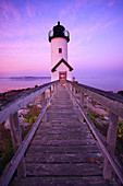 Annisquam lighthouse. Gloucester. Massachusetts. USA