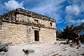 Temple of the Churches, Coba, Maya civilization (600 A.D.), Quintana Roo, Mexico