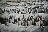 The terracotta army, Xian city area. Shaanxi province. China.
