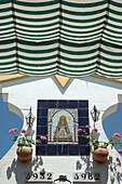 Inside of Ermita. Romeria ( Pligrimage ) de Rocio. Huelva Province . Spain