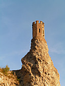 Architecture, Castle, Castles, Color, Colour, Daytime, Exterior, Lookout, Lookouts, Outdoor, Outdoors, Outside, Rock, Rocks, Surveillance, Tower, Towers, Watchtower, Watchtowers, World locations, S95-503063, agefotostock