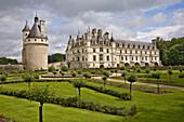 Chenonceaux Castle. Val-de-Loire, France
