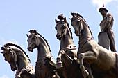 Statues, Madrid. Spain