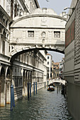 Daylight image of Bridge of Sighs, Venice, Italy