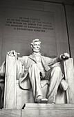 Lincoln Memorial in Washington, D.C. USA