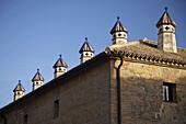 Façade of Parador. Carmona. Andalucia. Spain