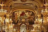Garnier Opera. Paris. France.