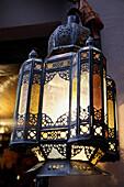 Moorish Lamp, Granada, Andalucía, Spain.