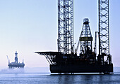 oil rigs off canadas east coast