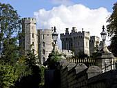 Edward III Tower South Wing Façade Windsor Castle England United Kingdom