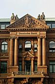Deutsche Bank facade, Bremen, Germany, Europe
