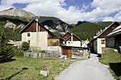 Brunissard. Arvieux. Queyras. Hautes-Alpes. France.