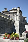 Château-Ville-Vieille, Château Queyras. Queyras. Hautes-Alpes. France.