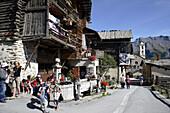 Saint Véran. Queyras. Hautes-Alpes. France.