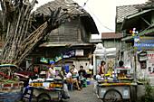 Food vendor in Phra Nathon quarter, Bangkok, Thailand