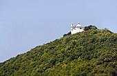 Landmark on the banks of the Danube, Upper Austria, Austria
