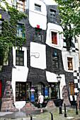 Art House Vienna from Friedensreich Hundertwasser, KunstHausWien, Vienna, Austria