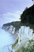Chalk cliffs Hohes Ufer, Jasmund National Park, Rugen island, Mecklenburg-Western Pommerania, Germany