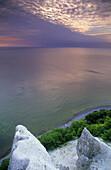 View from Stubbenkammer over Baltic Sea, Jasmund National Park, Rugen island, Mecklenburg-Western Pomerania, Germany
