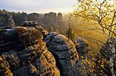 Felsenburg Neurathen (rock castle Neurathen), Saxon Switzerland, Elbe Sandstone Mountains, Saxony, Germany