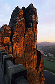 Bastei, Saxon Switzerland, Elbe Sandstone Mountains, Saxony, Germany