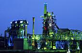 Meiderich Ironworks, Scenery Park North, Duisburg, North Rhine-Westphalia, Germany