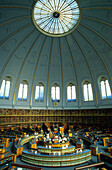 Europe, Great Britain, England, London, The British Museum, The Reading Room in the British Museum Library
