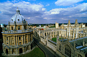 Europe, Great Britain, England, Oxfordshire, Oxford, All Souls College & Radcliffe Camera